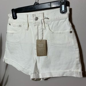 NEW Madewell High Waisted Jeans White Sz 24